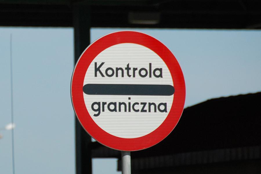 Kontrole na granicach w Europie