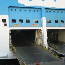 W Calais powstała strefa buforowa dla ciężarówek